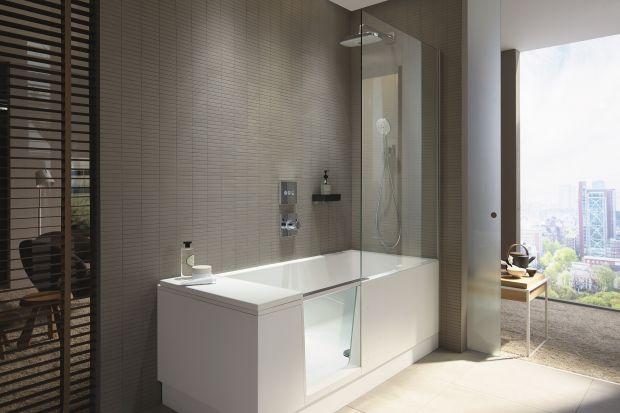 Wanna z drzwiczkami i parawanem: świetne rozwiązanie do małych łazienek