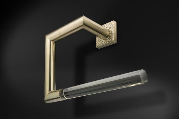 Akcesoria łazienkowe mogą pełnić rolę eleganckiej wnętrzarskiej biżuterii. Przekonajcie się sami!