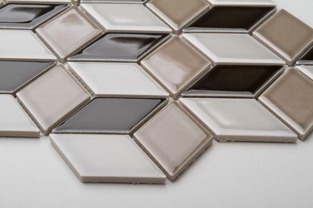 Urządzacie łazienkę w stylu art deco? Zobaczcie piękną serię mozaik idealnych do takiego wnętrza.
