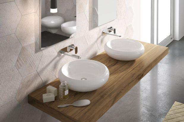 Chcąc urządzić elegancką strefę umywalki sięgnijmy po nablatowe modele umywalek.