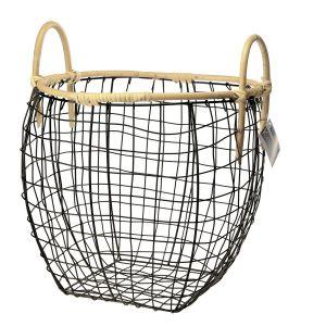 Koszyk metal KOBE 35x35cm. Fot. Galicja dla Twojego Domu