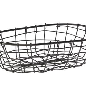 Koszyk metal KOBE 30x20cm. Fot. Galicja dla Twojego Domu