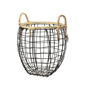 Koszyk metal KOBE 25x30cm. Fot. Galicja dla Twojego Domu
