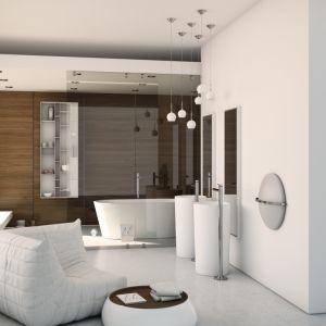 Salon kąpielowy z meblami z kolekcji Diamond marki Dimasi, zaprojektowanymi wspólnie z Moma Design. Fot. Dimasi/Moma Design