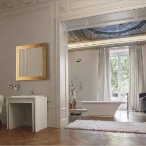 Aranżacja salonu kąpielowego z armaturą marki Graff, seria Finezza. Fot. Graff