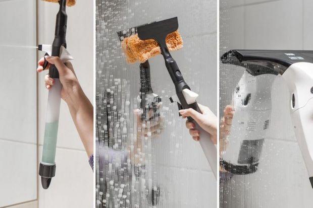 Kabina prysznicowa to bardzo praktyczny element wyposażenia wnętrza. Wymaga jednak dbania o czystość szkła. Pomocna okaże się myjka do okien
