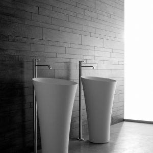 Umywalki Tuba marki Antoniolupi. Fot. Antoniolupi