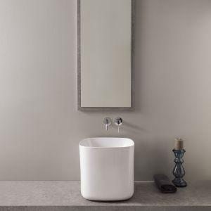 Umywalka z serii Moon marki Scarabeo Ceramiche. Fot. Scarabeo Ceramiche