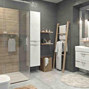 Aranżacja łazienki w stylu skandynawskim. Na zdjęciu wyposażenie marki Aquaform. Fot. Aquaform