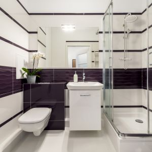 Bateria termostatyczna Imola Exe w połączeniu z zestawem natryskowym to sposób na stworzenie komfortowej strefy kąpieli. Fot. Invena