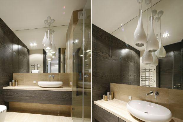 Stylistyka oświetlenia łazienkowego w znacznym stopniu determinuje charakter wystroju całego wnętrza. Zobaczcie oryginalne pomysły z polskich domów.