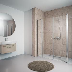 Łazienka ze strefą prysznica bez barier Fot. Radaway