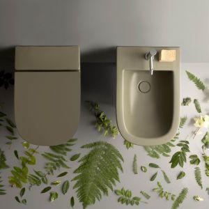 Ceramika sanitarna z serii Bagno di Colore. Fot. Ceramica Globo