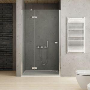W serii Reflexa kabiny prysznicowe z drzwiami pojedynczymi lub podwójnymi oraz drzwi wnękowe. Szkło 6mm z hydrofobową powłoką Active Shield. Można kompletować z brodzikiem Fluo z konglomeratu. Cena: od 1.961,85 zł/kabina; 1.429,26 zł/brodzik. Fot. New Trendy
