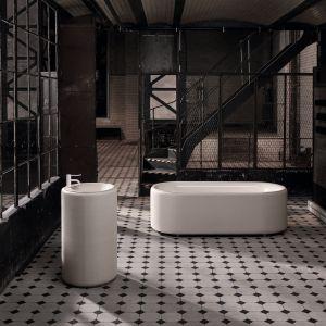 Wolno stojąca umywalka z serii BetteLux Oval marki Bette. Fot. Bette