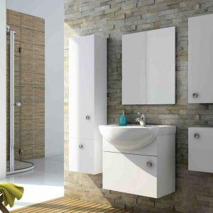 Białe meble łazienkowe z kolekcji Flex marki Aquaform. Fot. Aquaform