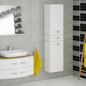 Białe meble łazienkowe z kolekcji Capri marki Devo. Fot. Devo