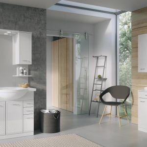 Białe meble łazienkowe z kolekcji Aqua Line marki Elita. Fot. Elita