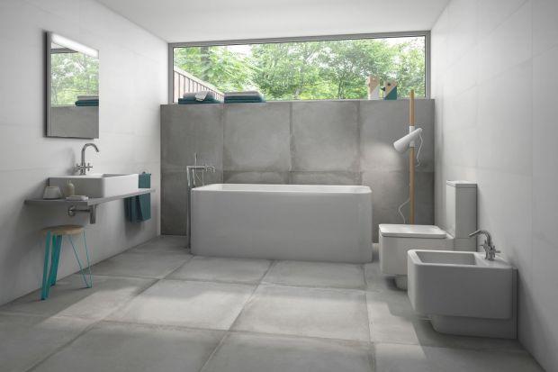 Modna łazienka: postaw na ściany z betonu