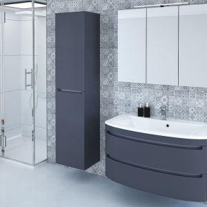 Ciemne meble łazienkowe z kolekcji Dynamic Plus marki Devo. Fot. Devo