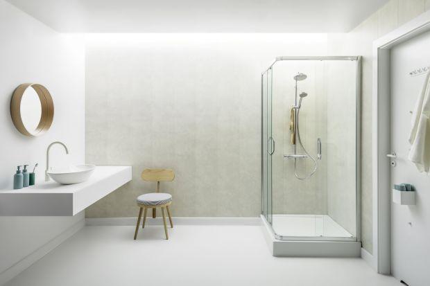 Czym zastąpić płytki ceramiczne w łazience? Zobaczcie nowy system paneli ściennych.