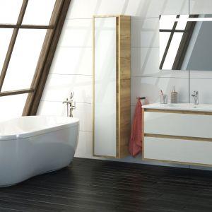 Nowoczesne meble łazienkowe z serii Cristal marki Devo. Fot. Devo, www.devo.pl