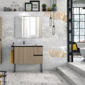 Nowoczesne meble łazienkowe z kolekcji Structure firmy Royo. Fot. royo