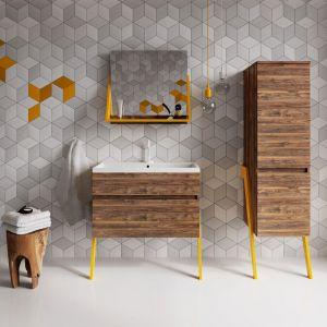 Nowoczesne meble łazienkowe z kolekcji OP-ARTY marki Defra. Fot. Deftrans