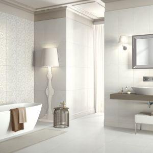 Białe płytki ceramiczne z kolekcji Pietra di Notto marki Marazzi. Fot. Marazzi