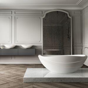 Kelly Hoppen zaprojektowała dla marki Apaiser niezwykłą wannę Serenity. Fot. Apaiser