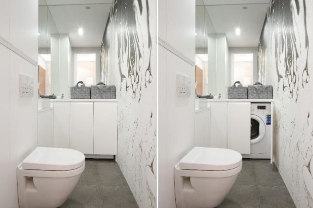 Jak urządzić łazienkę z pralką? Zobaczcie pomysły jakie podpatrzyliśmy w polskich domach!