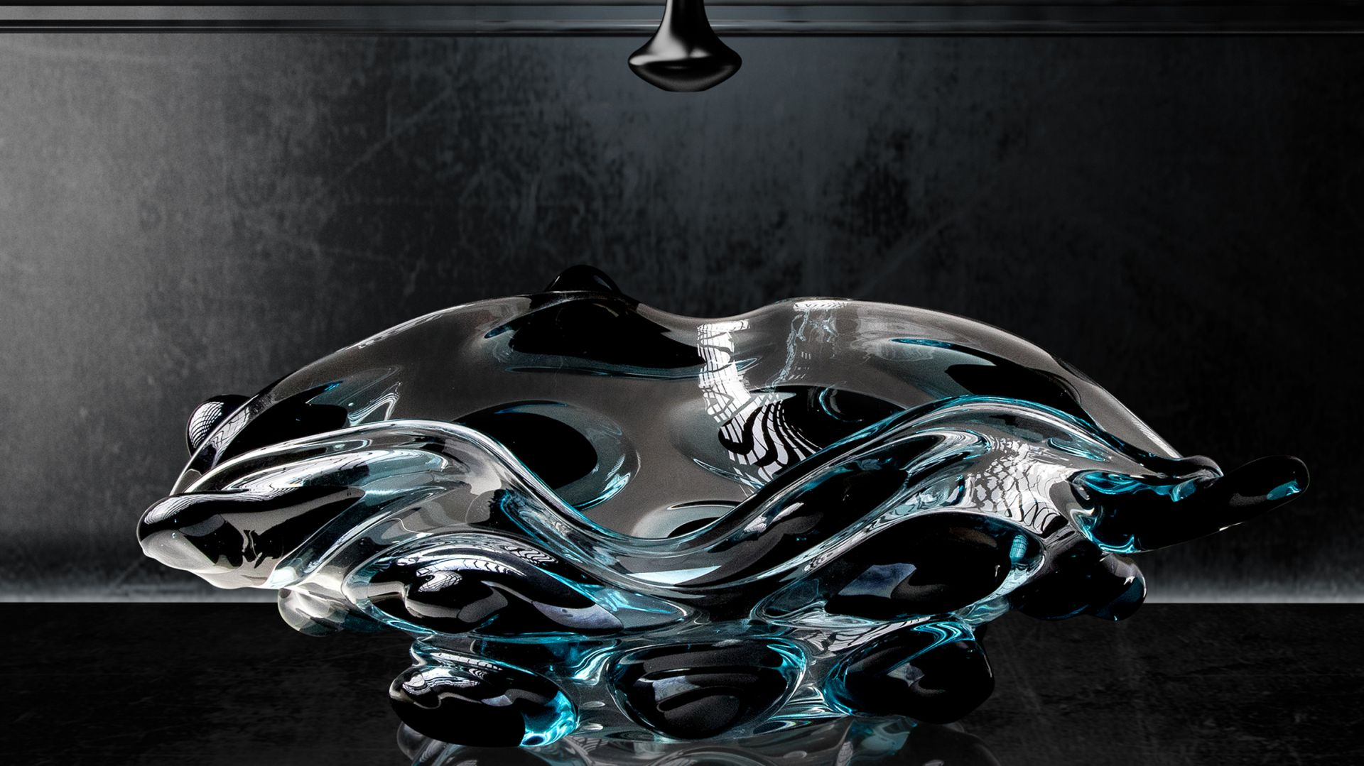 Szklana umywalka Arte 4 z kolekcji Arte Collection marki Glass Design. Fot. Glass Design