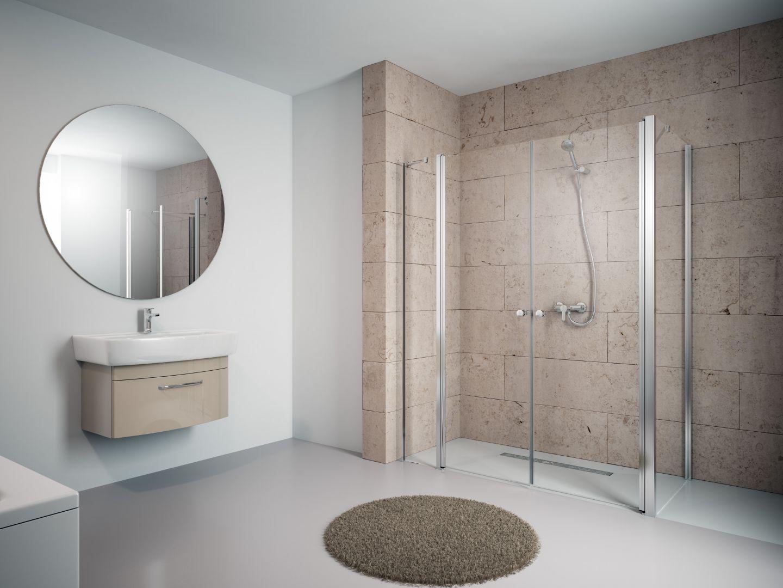 Łazienka bez barier z łatwym dostępem do prysznica i przestronną kabiną. Fot. Radaway