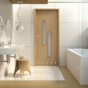 Drzwi łazienkowe z kolekcji Strada. Fot. Invado