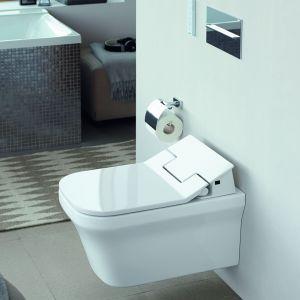 Podwieszana miska toaletowa SensoWash Slim. Fot. Duravit