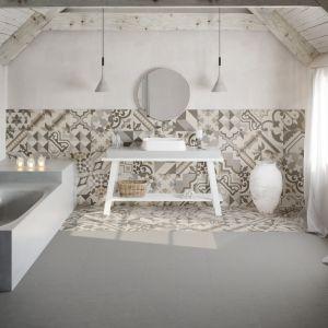 Patchworkowe płytki ceramiczne z kolekcji Dogana marki Argenta Ceramica