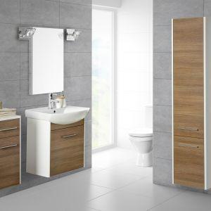 Meble łazienkowe z kolekcji Sella firmy Grupa Armatura