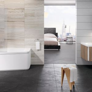 Meble łazienkowe z konceptu 10 stopni firmy Ravak