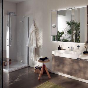 Meble łazienkowe z kolekcji Aquo firmy Scavolini
