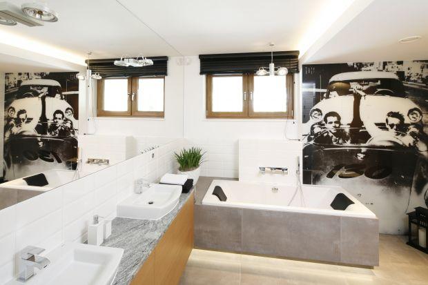Fototapeta na ścianie w łazience pozwala na nieskończenie wiele wariantów jej wykończenia. Zobaczcie 12 z nich!