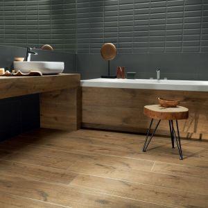 Płytki jak drewno z kolekcji Wood Shed marki Korzilius firmy Tubądzin