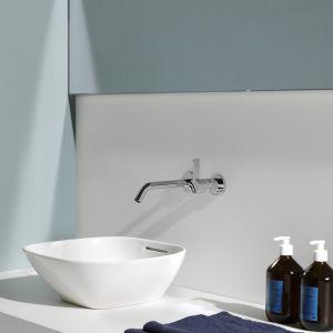 Zaprojektowana przez Toana Nguyena nablatowa umywalka z kolekcji Ino marki Laufen. Fot. Laufen