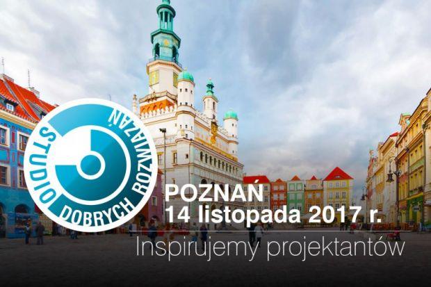 Kolejna odsłona jesiennej edycji Studia Dobrych Rozwiązań odbędzie się 14 listopada br. w Poznaniu. Serdecznie zapraszamy wszystkich projektantów i architektów. Gościem specjalnym wydarzenia będzie Hugon Kowalski – architekt, właściciel praco