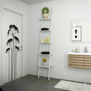 Łazienka w stylu skandynawskim. Fot. Nettoline, na zdjęciu meble z kolekcji Stecca