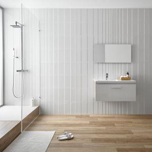 Łazienka w stylu skandynawskim. Fot. Peronda, na zdjęciu płytki z kolekcji Venetian i Grove