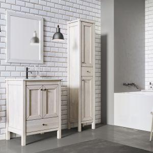 Łazienka w stylu skandynawskim. Fot. Elita, na zdjęciu meble z kolekcji Santos