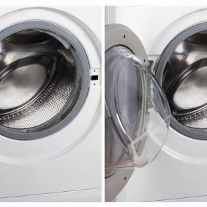 Widoczne działanie środka czyszczącego i odkamieniającego. Fot. WPRO