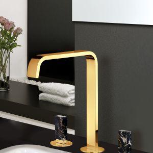 Bateria łazienkowa Vita M Style marki F.Lli Frattini (dostępnej m.in. w ofercie Mirad). Fot. F.Lli Frattini