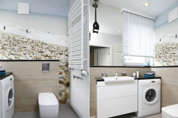 Jak wygospodarować miejsce na pralkę w łazience, aby sprzęt ten nie zepsuł aranżacji? Pokazujemy, jak z tym problemem poradzili sobie inni.