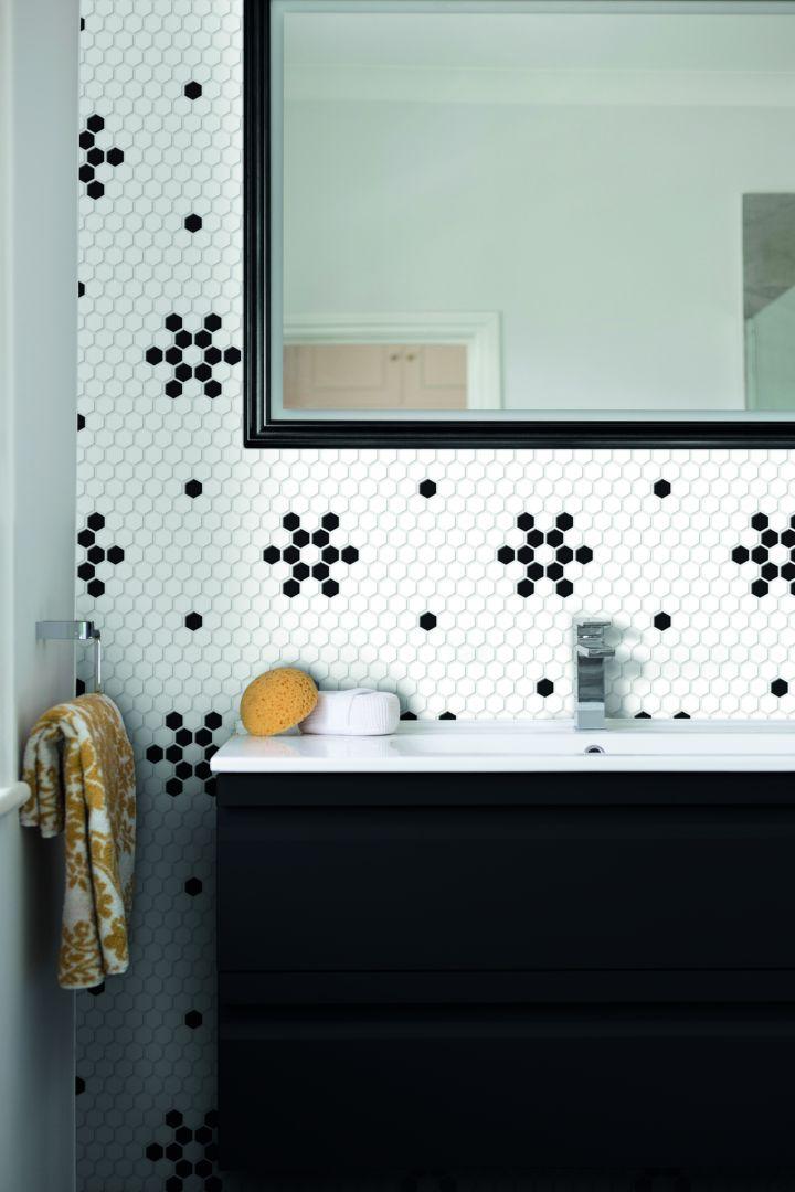 Mozaika gresowa Arabesco Mini Hexagon marki Dunin. Fot. Dunin